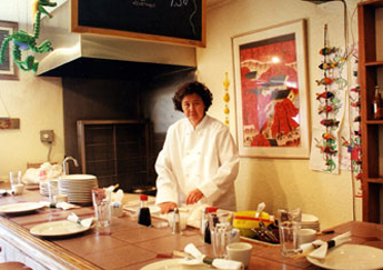 Chef Judy Fu at her Jiao-zi Bar
